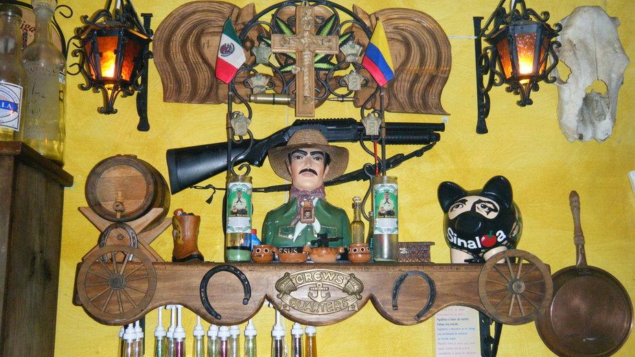 Święty przemytników narkotyków Jesus Malverde, CC BY-SA, Wikimedia