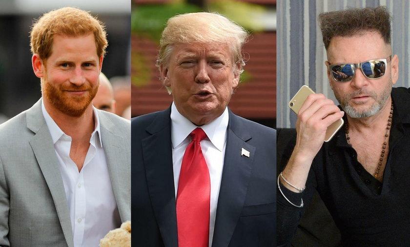 Książę Harry, Donald Trump i Krzysztof Rutkowski borykają się z łysieniem