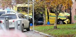 Atak w Oslo. Napastnik ukradł ambulans i wjechał w ludzi