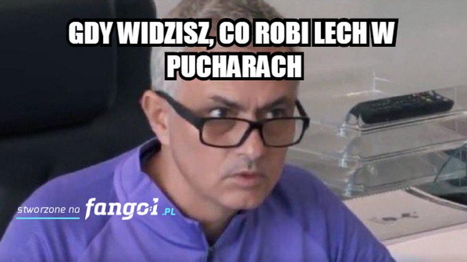 Mem po meczu Royal Charleroi - Lech Poznań