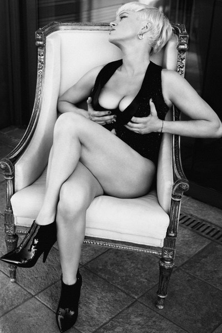 Katarzyna Figura w Playboyu w 2008 roku