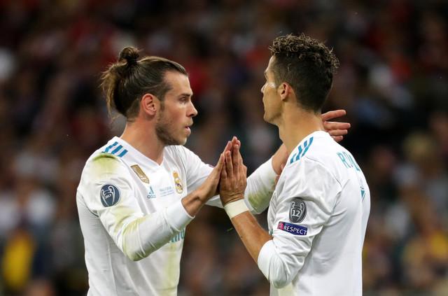 Geret Bejl i Kristijano Ronaldo iz dana dok su zajedno bili u Realu