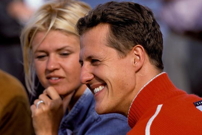 Majkl Šumaher i supruga Korina