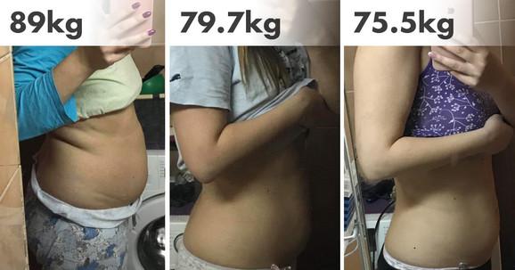 13,5 kg manje - rezutlati korišćenja Saffranex kapusla