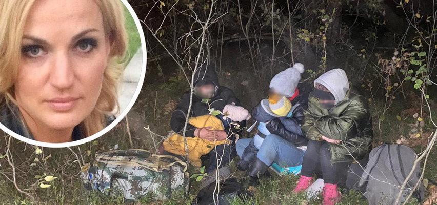 Te dzieci od dwóch tygodni są w lesie. Kaszlą, są chore i proszą o pobyt w Polsce. Co zrobiła straż graniczna? [RELACJA Z MIEJSCA]