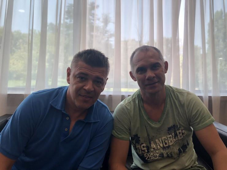 Savo Milošević i Albert Nađ