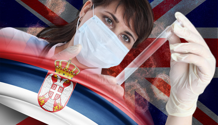 britanija srbija korona foto RAS Shutterstock
