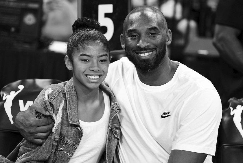 Kobe Bryant z córką Gianną