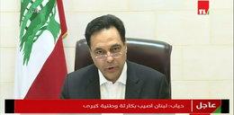 Potężna eksplozja w Bejrucie. Premier wygłosił intrygujące oświadczenie