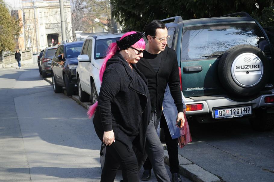 Kod Šaulića stigla i kuma Zorica Brunclik