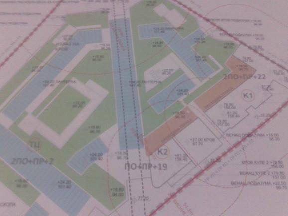 Projektom je predviđeno da petinu površine čine zelene površine