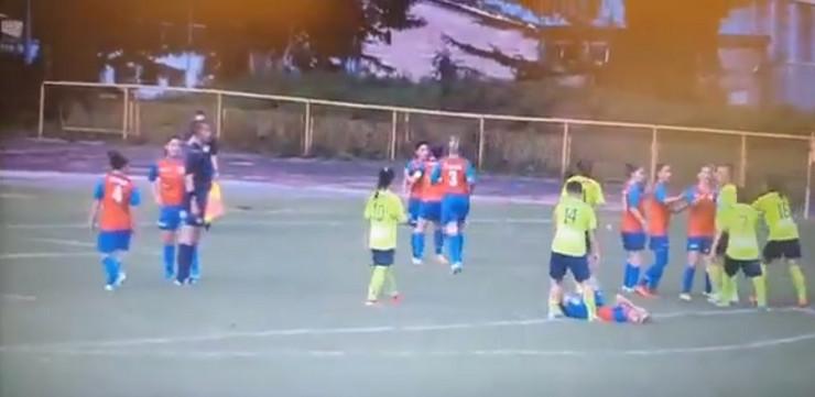incident  fudbalerke