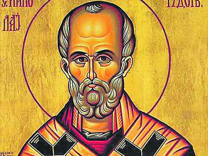 Svetog Nikolu na ikonama predstavljamo ovako: A narodno predanje kaže da izgleda POTPUNO DRUGAČIJE