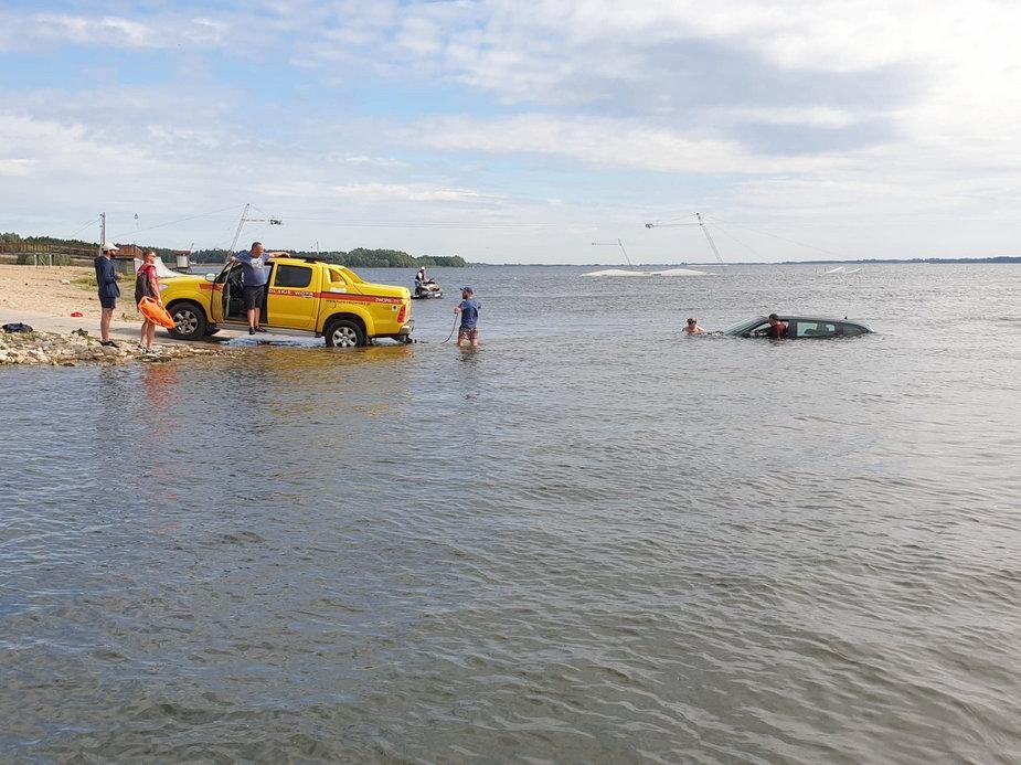 Nietypowa akcja na Jeziorsku