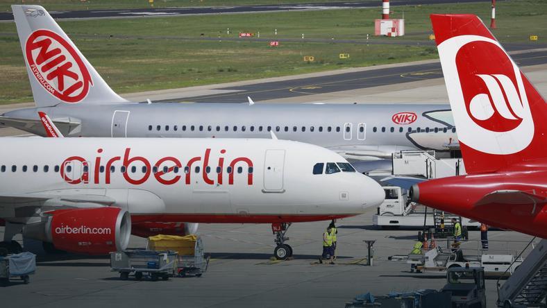 Znalezione obrazy dla zapytania Air Berlin