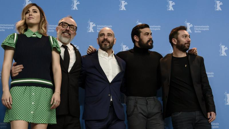 """Konferencja prasowa filmu """"El Bar"""""""