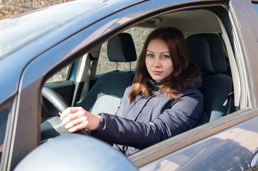 Beata Olaf (26 l.), kierowca z Katowic