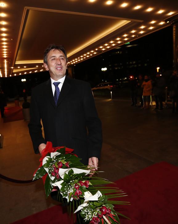 Željko Mitrović na Veljkovom venčanju