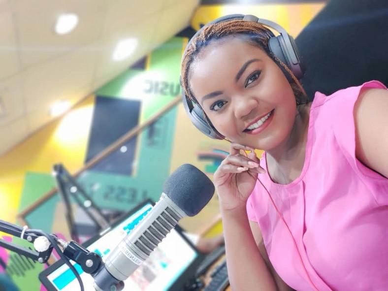 Ms Cate Rira. Nation FM Presenter Scolds Bahati Over Mediocrity