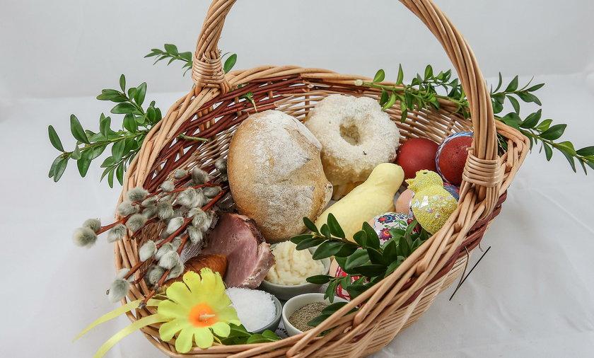 Wielkanoc 2017: Koszyczek wielkanocny