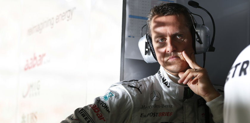 Schumacher miał plan. Zniweczył go wypadek