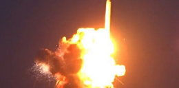 Gigantyczna kula ognia. Po starcie wybuchła rakieta