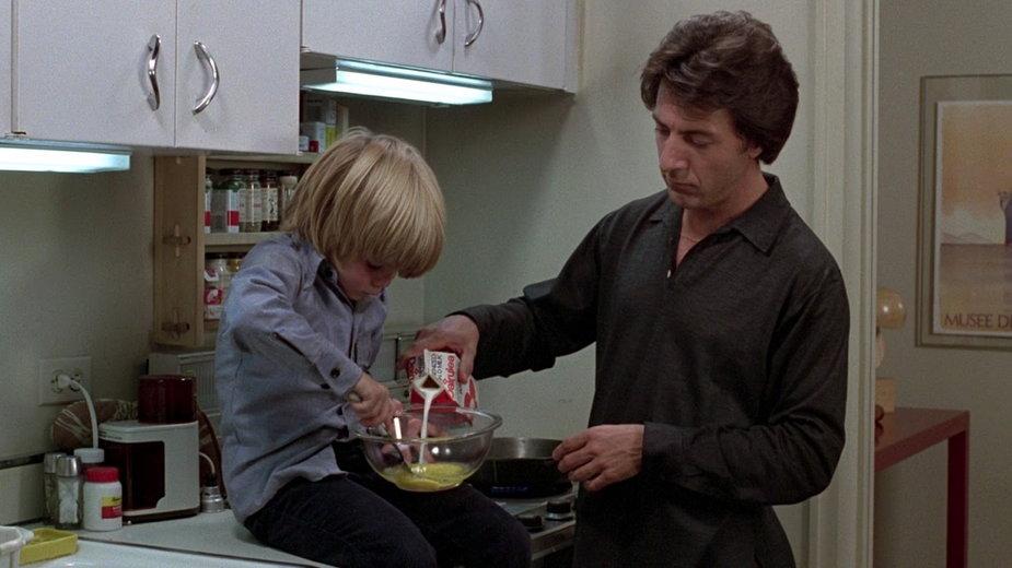 """Justin Henry i Dustin Hoffman w filmie """"Sprawa Kramerów"""""""