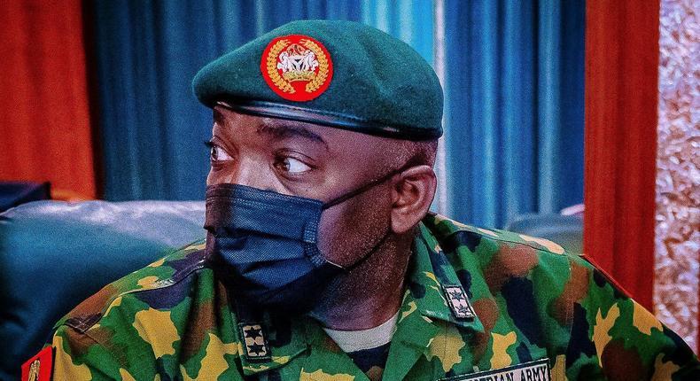 Late Chief of Army Staff, Major General Ibrahim Attahiru [Tolani Alli]