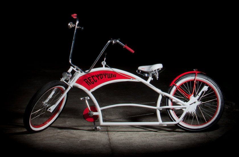 Buduje niezwykłe rowery