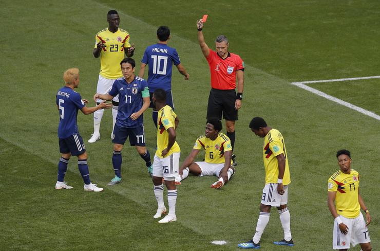 Fudbalska reprezentacija Kolumbije, Fudbalska reprezentacija Japana