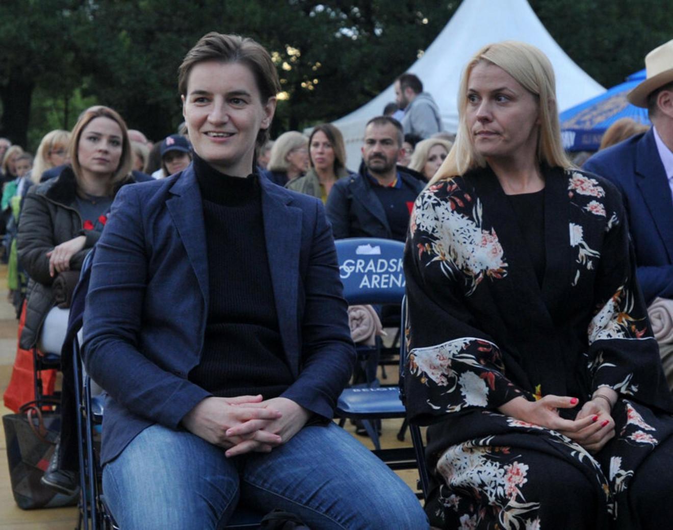 Ana Brnabić Milica Đurđić