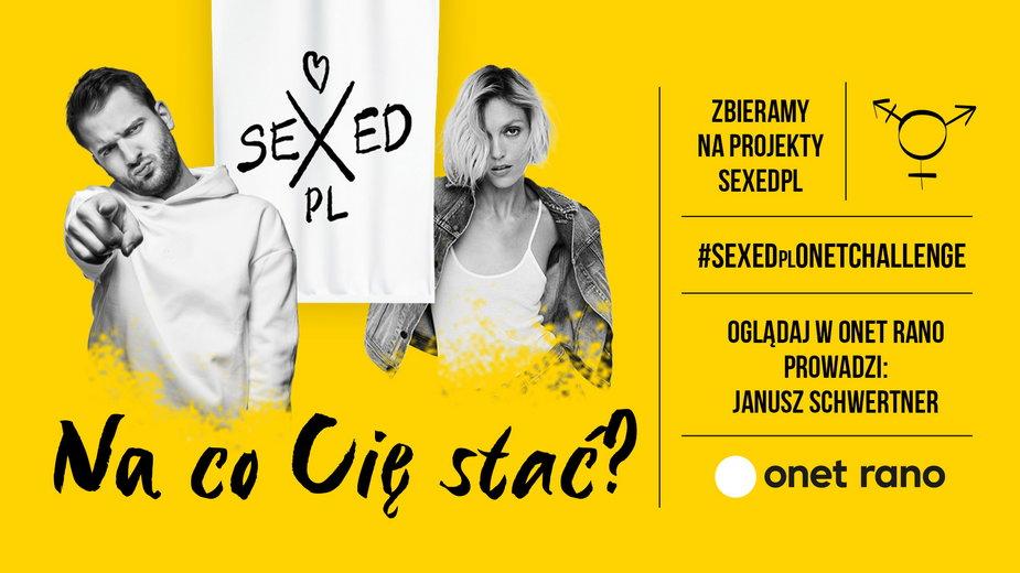 Do udziału w akcji zachęcają Anja Rubik z SEXEDpl i dziennikarz Onetu Janusz Schwertner