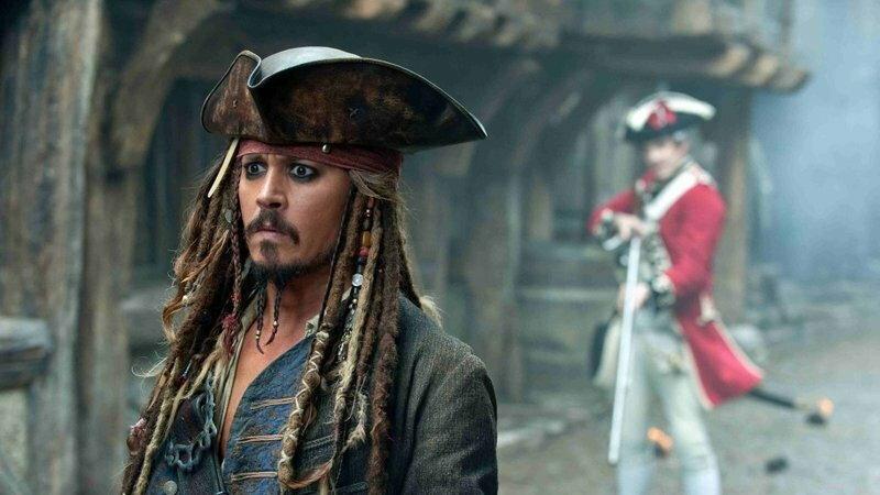 """""""Piraci z Karaibów: Na nieznanych wodach"""" - kadr z filmu"""