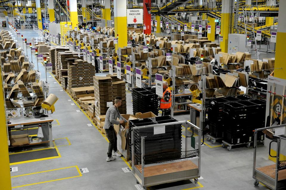 Nowe Centrum Logistyki Amazona otworzono w Kołbaskowie.