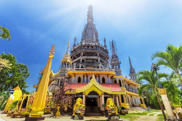 Krabi - Świątynia Tygrysich Jaskiń