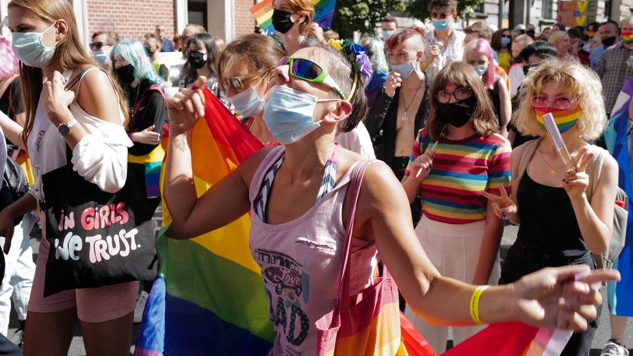 Marsz Równości w Katowicach, 5.09.2020