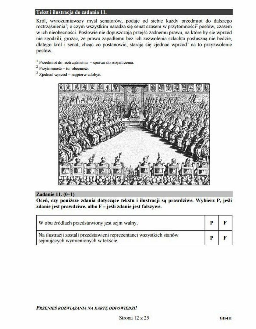 Egzamin gimnazjalny 2016: Część Humanistyczna. Pytania i odpowiedzi