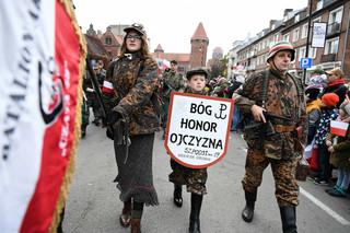Parada Niepodległości w Gdańsku  [ZOBACZ ZDJĘCIA]