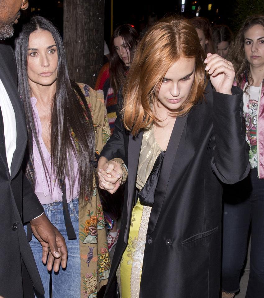 Demi Moore z córkami. Podobne?