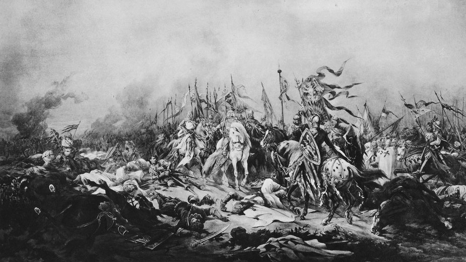 Bitwa pod Płowcami - Juliusz Kossak