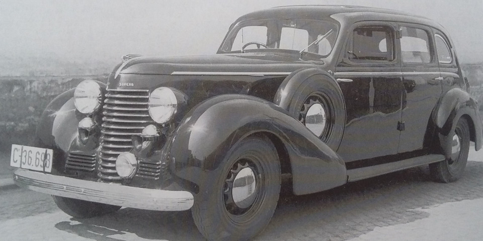 Škoda Superb 4000 (1939-1940)