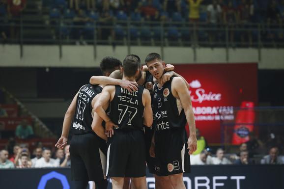 Jedan od četiri šampiona Evrope u Evrokupu: Košarkaši Partizana