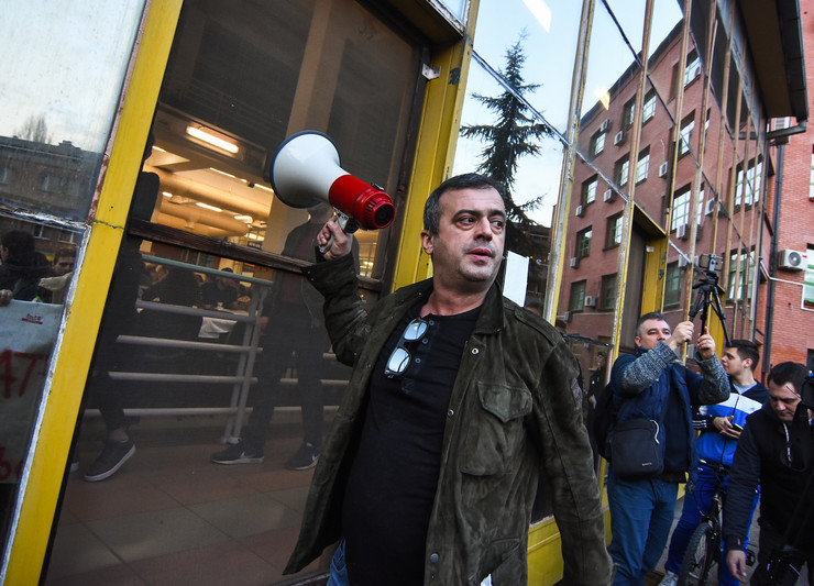 Protest, Novi Sad2, foto Nenad Mihajlovic