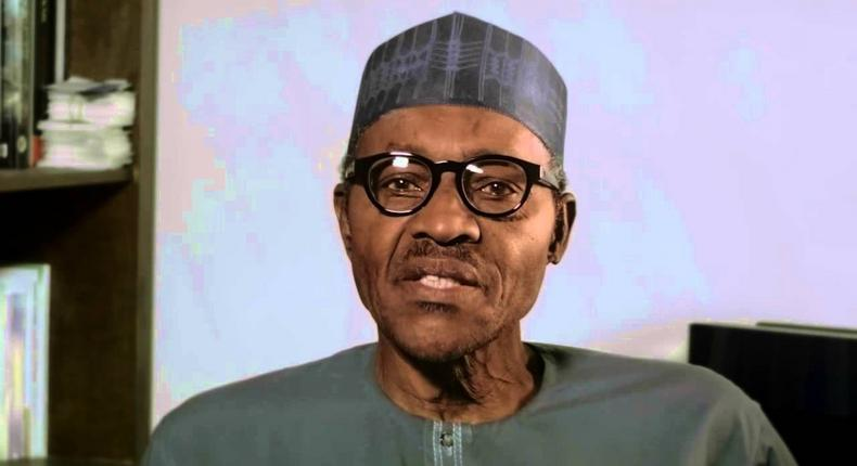 Presidential candidate and incumbent president, Muhammadu Buhari