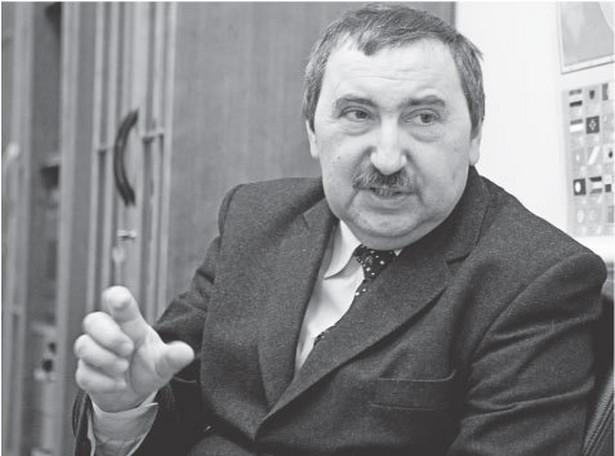 prof. Bogusław Banaszak, przewodniczący Rady Legislacyjnej przy prezesie RM Fot. Wojciech Górski