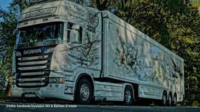 Brytyjska policja zachwycona ciężarówką z Polski