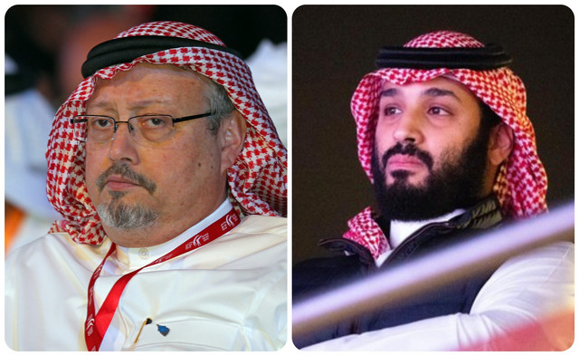 Džamal Kašogi i Mohamed bin Salman