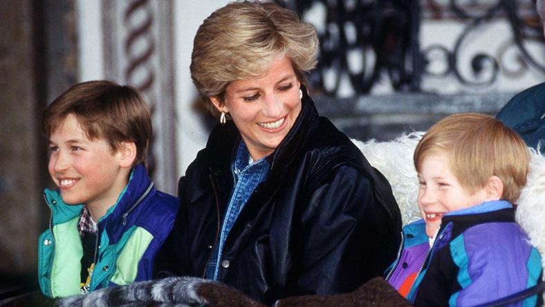 Diana, William i Harry