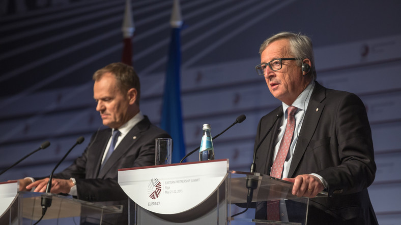 Donald Tusk i Jean-Claude Juncker