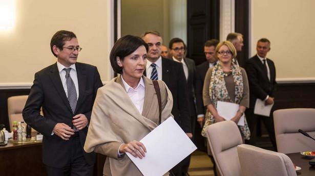 Joanna Mucha. Fot. Maciej Śmiarowski/KPRM